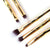 Stay Golden- 5 Piece Brush Set