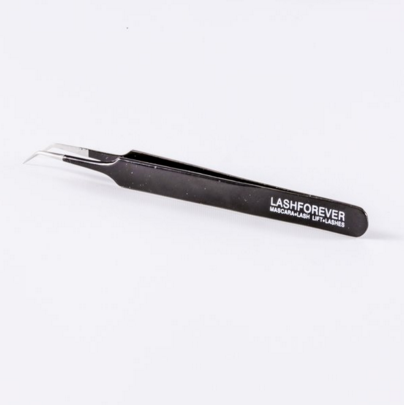 CURVED LASH TWEEZERS