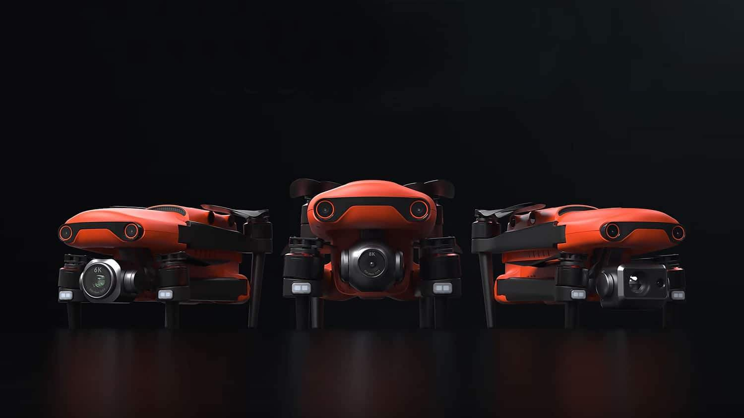 Autel Robotics EVO II Drones are shaking up the drone market
