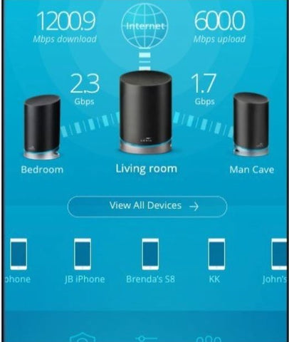 in-app set-up, Wi-Fi app guide, Wi-Fi set up with app, Amazon Alexa compatible, Wi-Fi Router with Amazon Alexa, Wi-Fi Router with Amazon Echo Dot