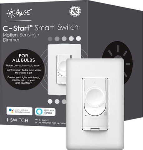C by GE Wi-Fi Smart Motion Dimmer and Switch