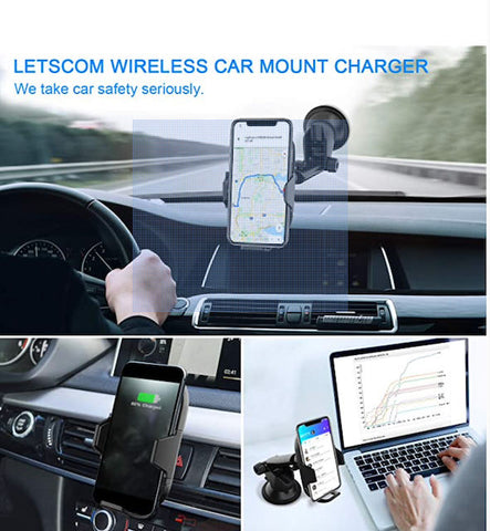Letscom Wireless Car Charger / Wellbots
