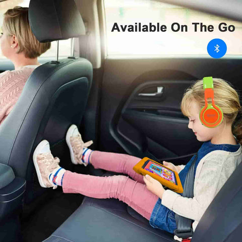 Contixo V8-2 is a kids tablet with long lasting battery life. The 3,000mAh battery will last up to 6 hours when playing educational video games. Thanks to a built-in 16GB memory storage you can download audibles, books, educational games and more.
