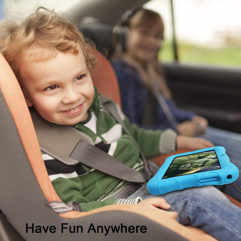 Contixo V9-3 Kids Tablet is a tablet designed to educate kids. The tablet has 20 pre-installed learning games and features a built-in 16GB storage so that kids can use the tablet on the go.