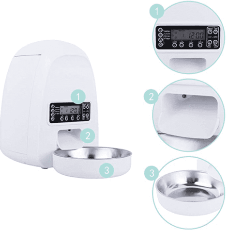 DOGNESS Mini Programmable Pet Feeder