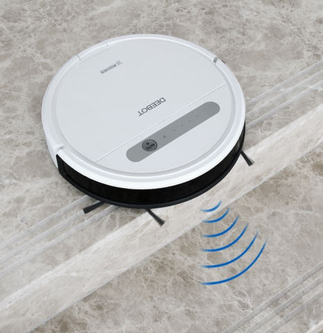 Ecovacs Deebot Ozmo 610 robotic vacuum cleaner with mop