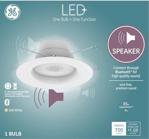 CE LED+ Smart Speaker Light Bulb
