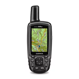 Garmin GPSMAP 64st is a handheld GPS for hiking and other outdoor activities. The device features a 3-axis electronic compass that shows you where you're heading even if you are standing still.