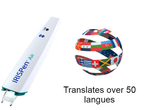 IRIS IRISPen Air 7 translates over 50 languages