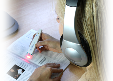 IRIS IRISPen Air 7 can read out text in 40 different langages