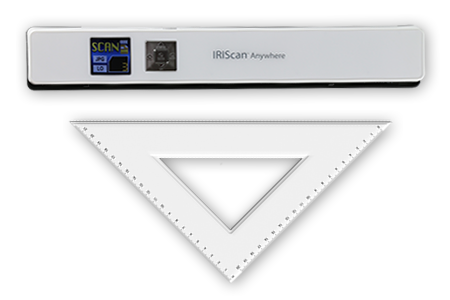 Use Iriscan Anywhere 5 without the need of any cable or internet connection. Simply connect your smartphone or computer with the scanner and transfer documents instantly, The scanner uses its own WiFi network, so you won't have to configure anything!