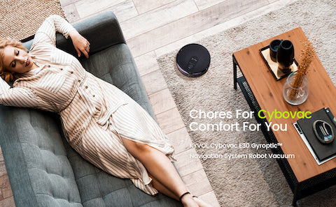 Kyvol Cybovac E30 Wi-Fi Connected Robot Vacuum Cleaner