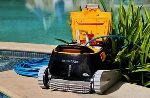 Maytronics Dolphin Triton PS Plus Pool Cleaner