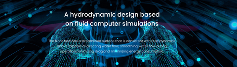 An hydrodynamic functional design with great features