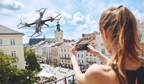 Snaptain S5C 720P HD Video Beginner Drone with FPV
