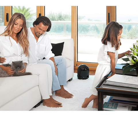 Wellbots - AirFree P3000 Air Purifier removes dust, mold, allergens, smoke, pet dander and more