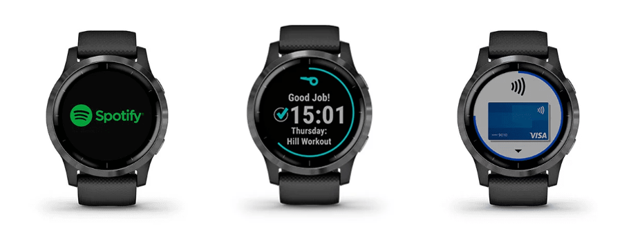 Wellbots - Garmin Vivoactive 4 has built-in GPS and 20 pre-installed sports app for running, cycling, swimming, golf and yoga