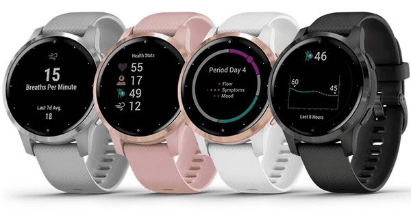 Wellbots - Garmin Vivoactive 4S - Collection