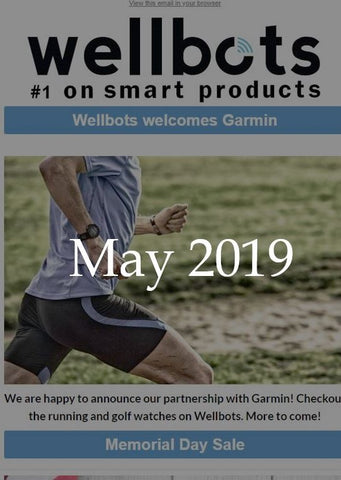 Wellbots Newsletter - May 2019