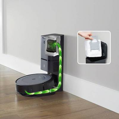 iRobot Roomba i3+ Wi-Fi Connected Robot Vacuum with Automatic Dirt Disposal