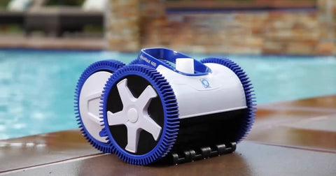 Aquanaut 400 4 - Wheel Drive Suction Pool Cleaner wellbots