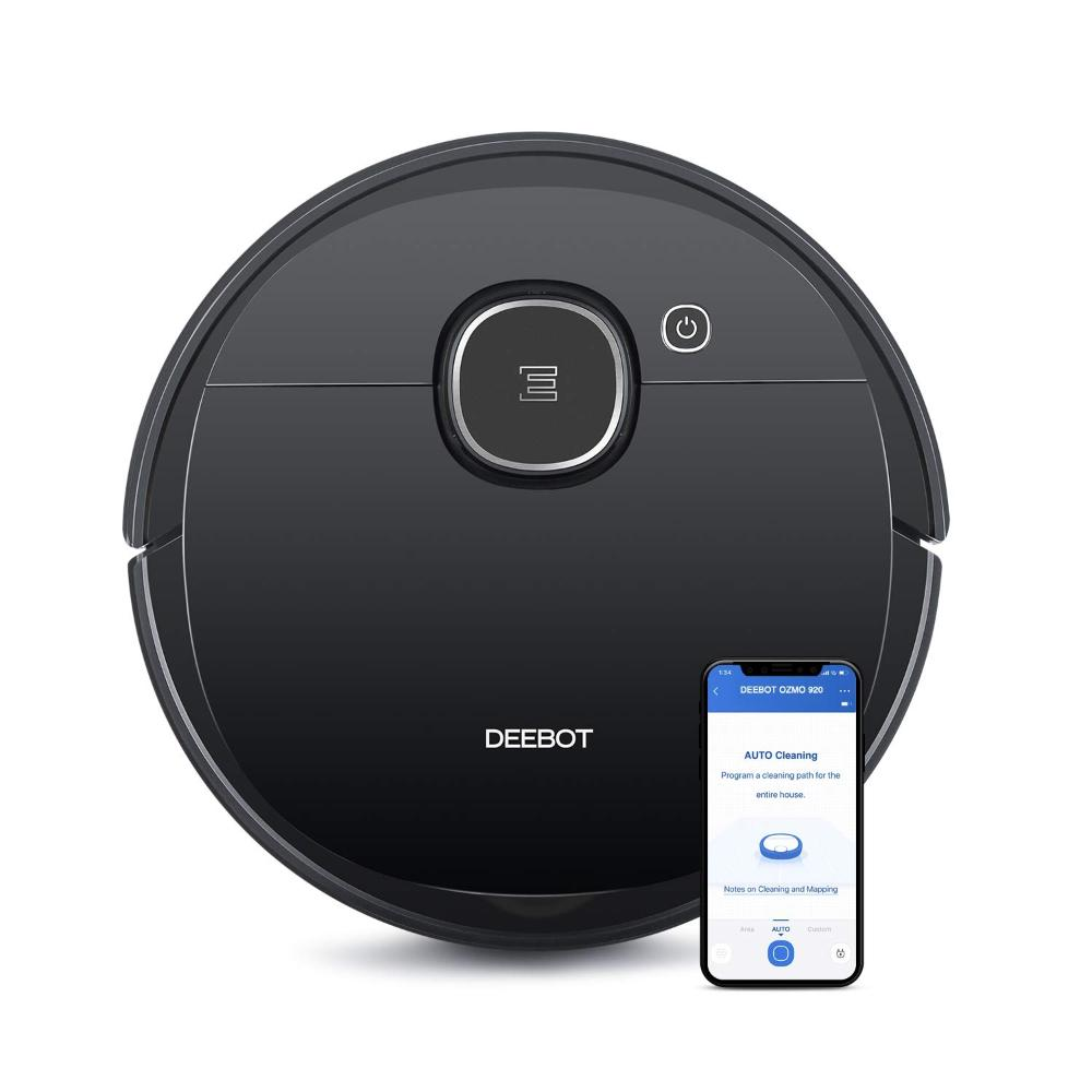 Ecovacs Deebot OZMO 920 Robot Vacuum Cleaner (Certified Refurbished)