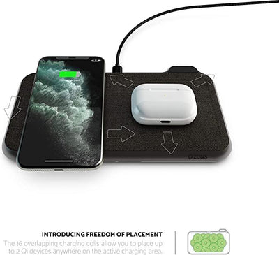 ZENS Liberty 16 coil Dual Wireless Charger Accessories Zens