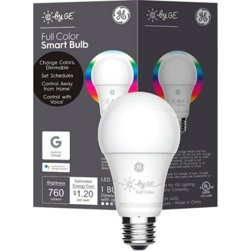 C by G - A19 C-Life Smart LED Light Bulb (Full Color, 1-Pack)