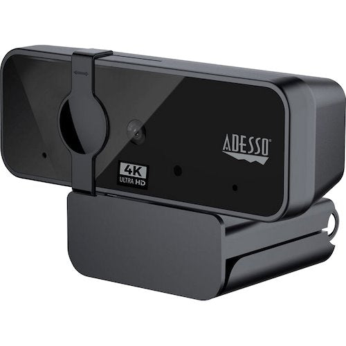 Adesso Cybertrack H6 4K Webcam w/ Built-in Microphone Audio & Video Adesso