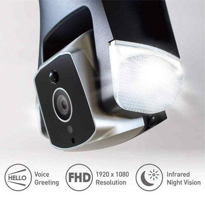 Amaryllo Ares Outdoor Security Camera With Face Recognition