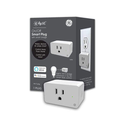 C by GE - On/Off Smart Plug - White Health & Home General Electric