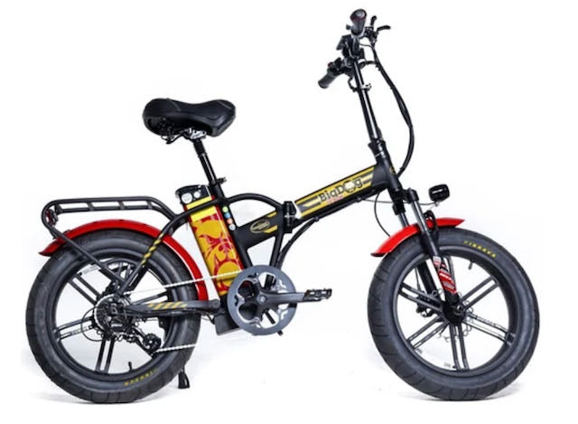 GreenBike Big Dog Extreme, Foldable Electric Bike