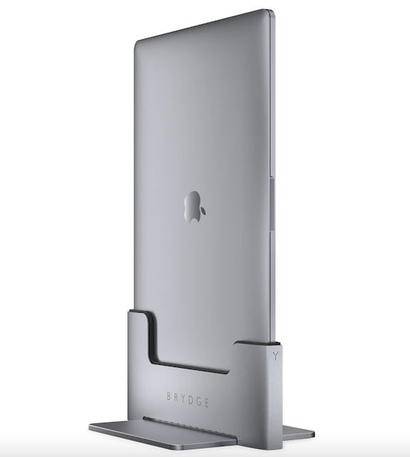 Brydge MacBook Vertical Dock 15-inch for MacBook Pro