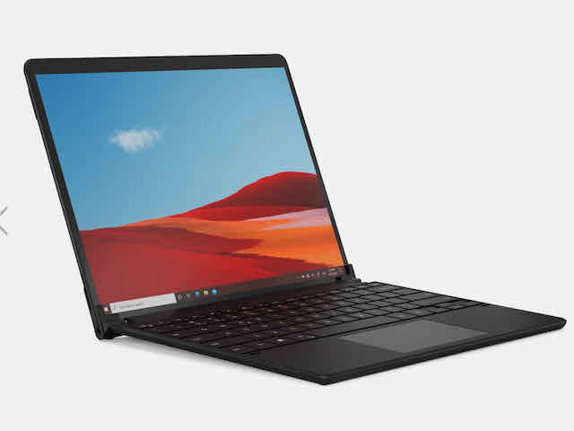 BRYDGE SPX+ Wireless Keyboard with Trackpad for Surface Pro X