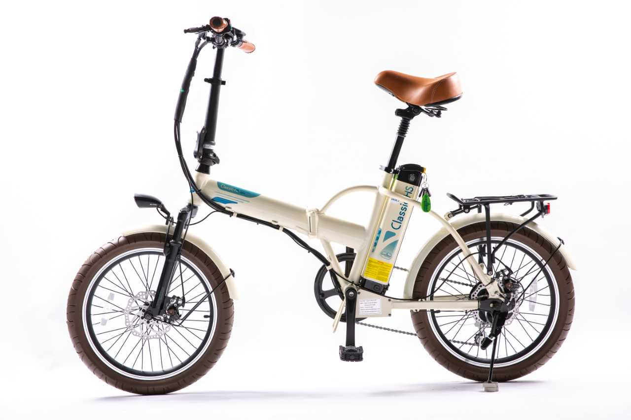 Classic HS 2021 x Foldable Electric Bike by GreenBike