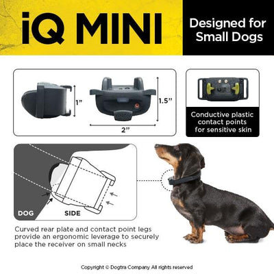 DOGTRA IQ-MINI Dog Training collar Pets Dogtra
