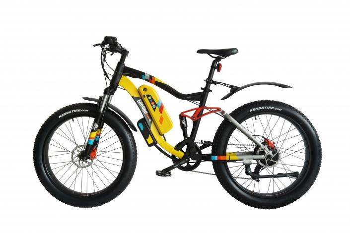 Enduro Phat 48 X Mountain electric bike by Green Bike Electric Scooters Green Bike