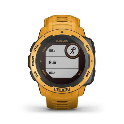 Garmin Instinct® Solar Rugged GPS Smartwatches with Solar Charging Connected Health Garmin