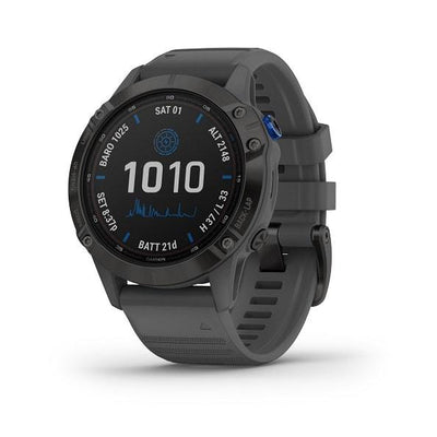 Garmin fēnix® 6 Pro Solar Edition Connected Health Garmin