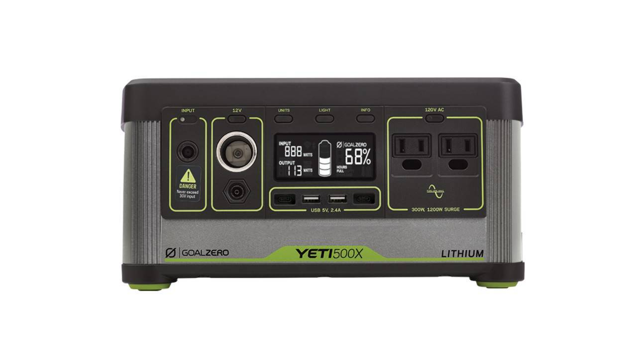 Goal Zero Yeti 500X Portable Power Station Accessories Goal Zero
