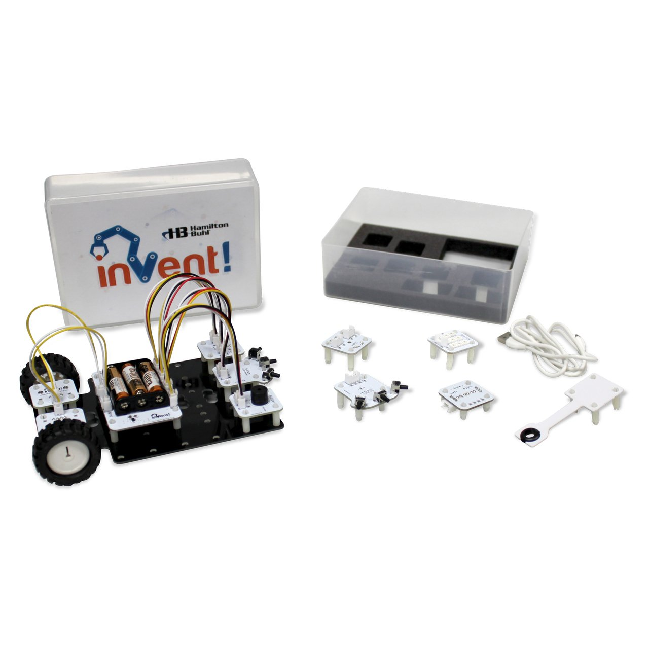 Hamilton Buhl Invent! Kit - STEAM Education Robot Assembling and Coding Smart Toys Hamilton Buhl