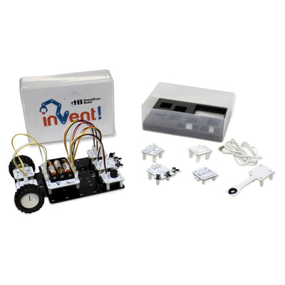 Hamilton Buhl Invent! Kit - STEAM Education Robot Assembling and Coding