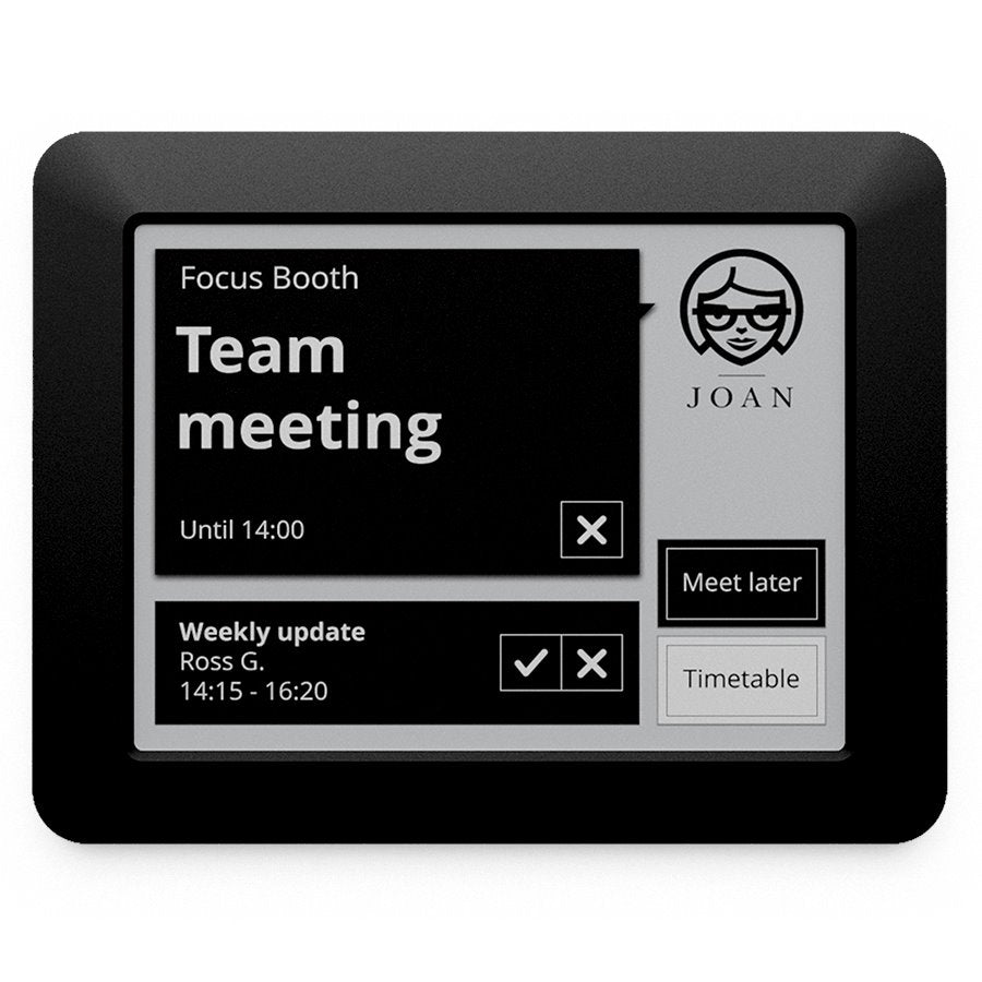"JOAN MANAGER 6"" - Interactive Conference Room Scheduler Health & Home JOAN"