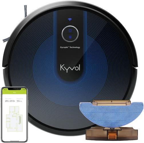 Kyvol Cybovac E31 Wi-Fi Connected Vacuum & Mopping Robot Cleaning Robots Kyvol
