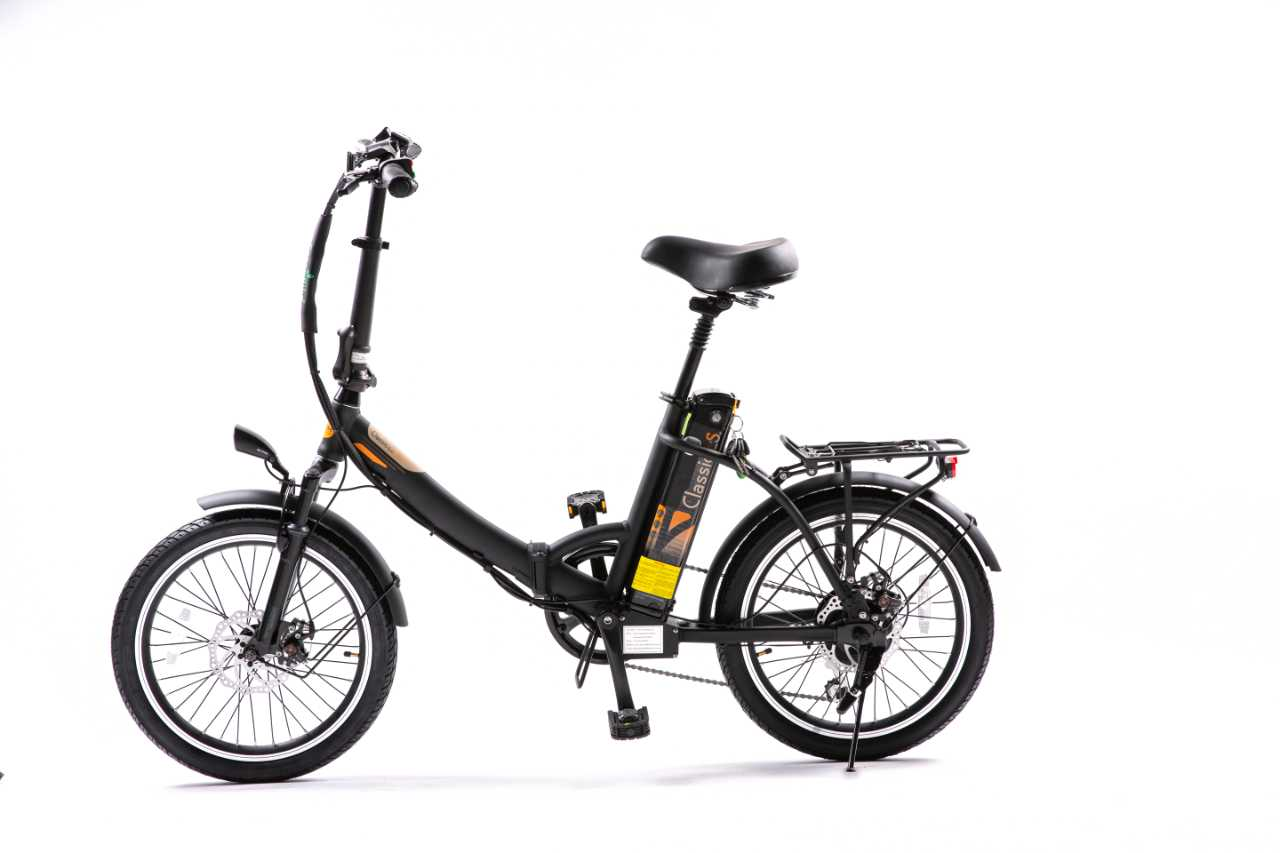 Classic LS 2021 x Foldable Electric Bike by GreenBike