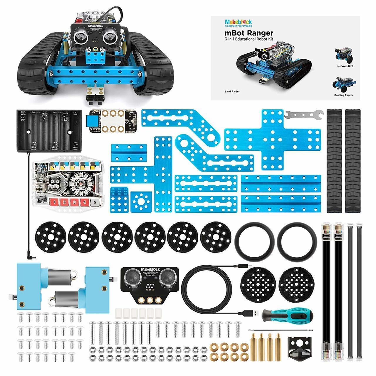 Makeblock mBot Ranger STEM Educational 3 in 1 Programmable Robotic Kit