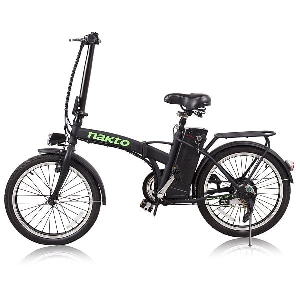 "Nakto Fashion 20"" Folding Electric Bike"