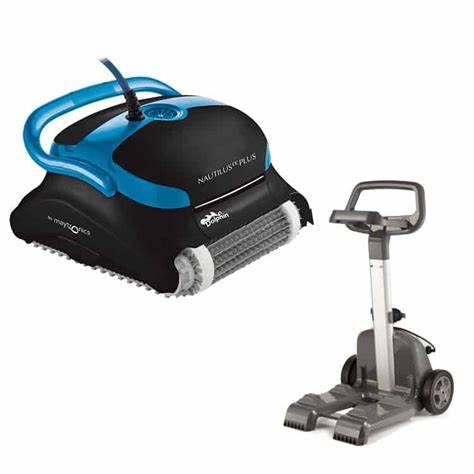 Dolphin Nautilus CC Plus Robotic Pool Cleaner with Caddy