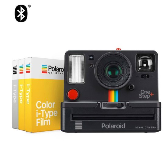 Polaroid OneStep Plus + Starter Set Audio & Video Polaroid