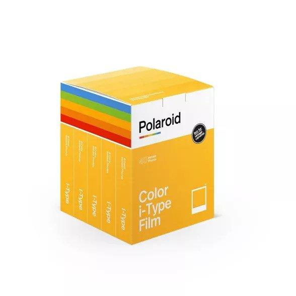 Polaroid Color Film for i-Type (5-Pack, 40 Exposures)